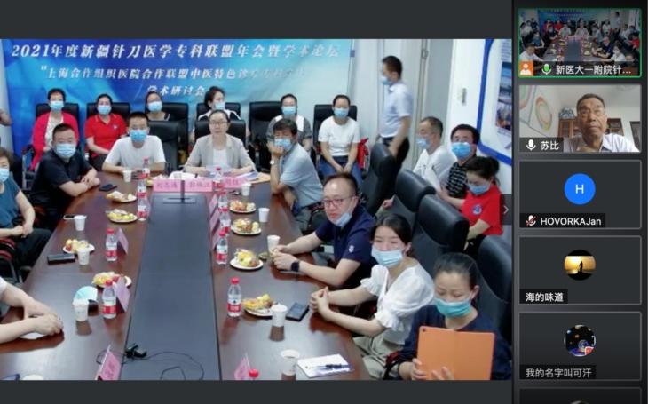 TCM ONLINE: Urumqi, Xinijang, China. Meeting of experts